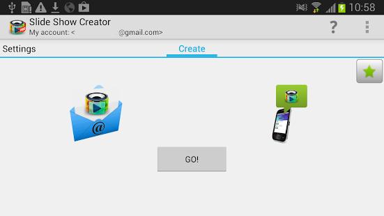 Как на андроиде сделать слайд шоу с  970