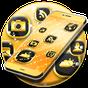 Neon Altın Tema Launcher GO