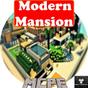 Роскошный особняк в Minecraft