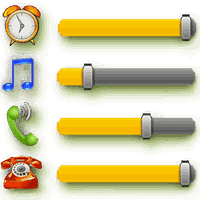 Volumen Control Widget