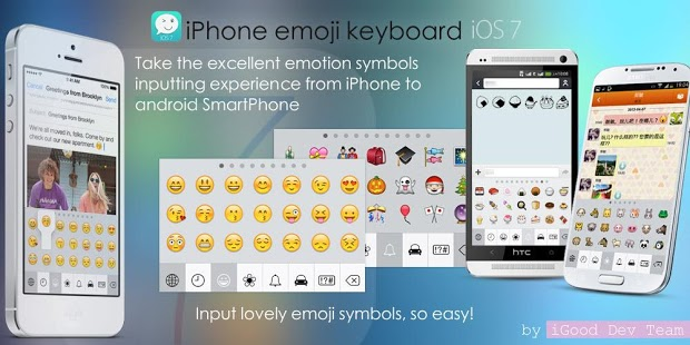 Download iPhone Emoji Keyboard Pro-iOS7 Apk 1 3 1