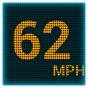 Miernik prędkości GPS LED